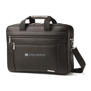 Samsonite Classic Business Perfect Fit Two Gusset Computer Portfolio Black