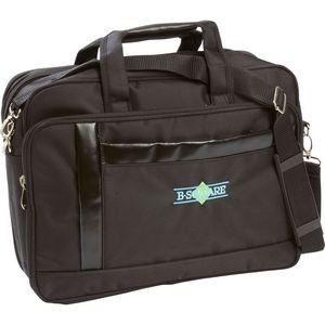 "Nylon Expandable 16"" Briefcase/Computer Bag"